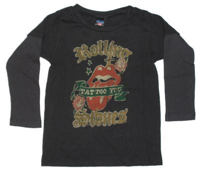 Rolling Stones Tattoo You Kids 2Fer Tee Shirt by Junk Food Clothing